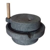 [천연 자연석] 전통 맷돌 3단풀매(크기 선택) 멧돌/콩국수