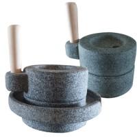 [천연 자연석] 커피 맷돌(2단/풀매 선택) 핸드드립커피/커피분쇄기/커피믹서/커피그라인더/미니맷돌