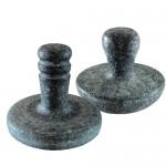 [長水특산 천연곱돌] 손잡이용 찜질기(종류선택)  장수곱돌/돌찜질기/마사지기/맛사지기/찜질팩/손난로/배찜질기