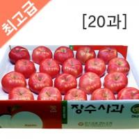 장수사과 5kg(20과)  사과 5kg/사과 10kg/과일선물/햇사과/선물용사과/과수농가직판