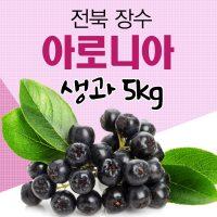 [長水청정마을] 아로니아 생과 5kg/생아로니아 아로니아열매/아로니아생과/분말 청