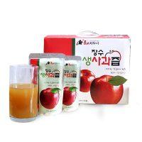 장수사과 생사과즙(30봉/50봉) 사과즙/사과주스/장수사과/햇사과/꿀사과
