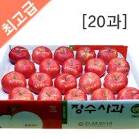 장수사과 부사 5kg(20과)  사과 5kg/사과 10kg/과일선물/햇사과/선물용사과/과수농가직판